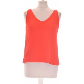 Vêtements Femme Débardeurs / T-shirts sans manche Mango Débardeur  34 - T0 - Xs Rouge