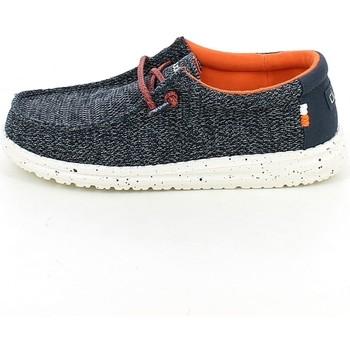Chaussures Garçon Mocassins Hey Dude WALLYYOUTH.06_33 Bleu