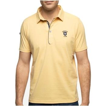 Vêtements Homme Polos manches courtes Shilton Polo manches courtes rugby basic Jaune