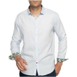 Vêtements Homme Chemises manches longues Shilton Chemise légère à manches longues WAVES Bleu ciel