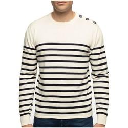 Vêtements Homme Pulls Shilton Pull marinière manches longues Beige