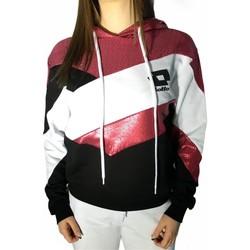 Vêtements Femme Sweats Lotto LTD446 Blanc/Fuchsia