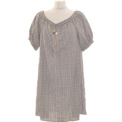 Vêtements Femme Robes courtes Zara Robe Courte  40 - T3 - L Gris
