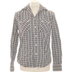 Vêtements Homme Chemises manches longues Celio Chemise Manches Longues  38 - T2 - M Bleu
