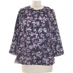 Vêtements Femme Tops / Blouses Un Jour Ailleurs Blouse  40 - T3 - L Violet