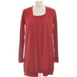 Vêtements Femme Gilets / Cardigans Antonelle Gilet Femme  36 - T1 - S Rouge