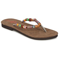 Chaussures Femme Tongs Banana Moon PERLA Multicolore
