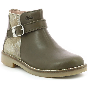 Chaussures Fille Bottines Aster Wizy KAKI