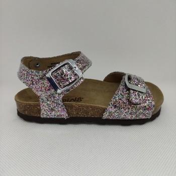 Chaussures Fille Sandales et Nu-pieds Reqin's OASIS GLITER VERNIS rose