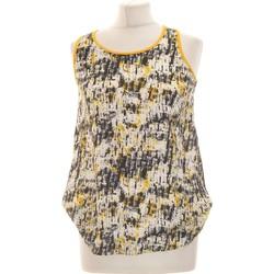Vêtements Femme Débardeurs / T-shirts sans manche Promod Débardeur  36 - T1 - S Jaune