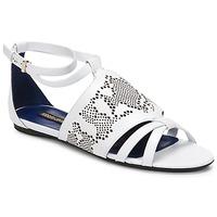 Chaussures Femme Sandales et Nu-pieds Roberto Cavalli TPS918 Blanc