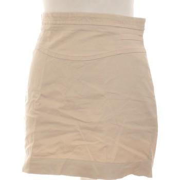 Vêtements Femme Jupes Zara Jupe Courte  38 - T2 - M Beige