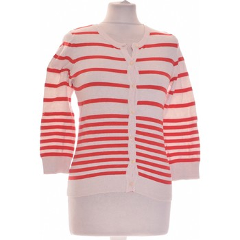 Vêtements Femme Gilets / Cardigans H&M Gilet Femme  34 - T0 - Xs Rouge