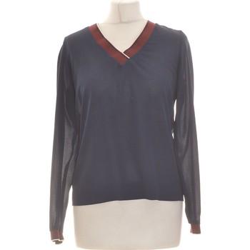 Vêtements Femme Tops / Blouses 1.2.3 Top Manches Longues  36 - T1 - S Bleu