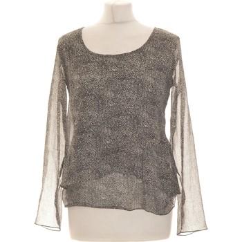 Vêtements Femme Tops / Blouses DDP Top Manches Longues  36 - T1 - S Gris