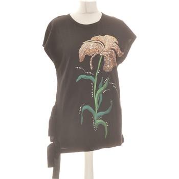 Vêtements Femme Débardeurs / T-shirts sans manche Zara Débardeur  36 - T1 - S Noir