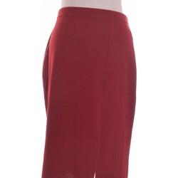 Vêtements Femme Jupes Manoukian Jupe Mi Longue  40 - T3 - L Rouge