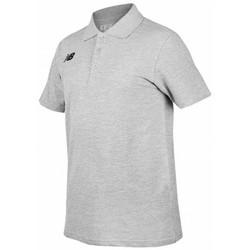 Vêtements Homme T-shirts manches courtes New Balance Polo Classic manche courte Gris