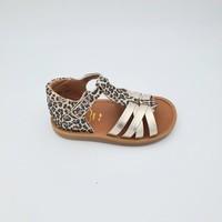Chaussures Fille Sandales et Nu-pieds Pom d'Api POPPY BACK NEPTUNE SANDALE Multicolore