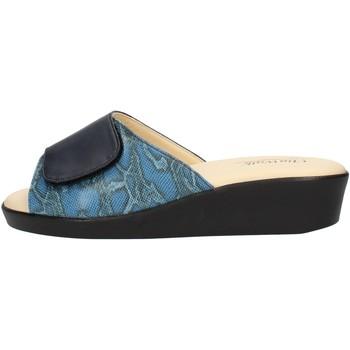 Chaussures Femme Mules Clia Walk COMFORT310 Bleu