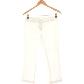 Vêtements Femme Pantacourts Benetton Pantacourt Femme  36 - T1 - S Blanc