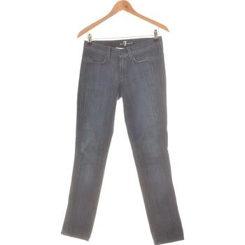 Vêtements Femme Jeans slim 7 for all Mankind Jean Slim Femme  36 - T1 - S Bleu