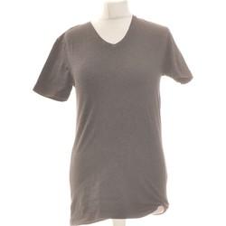 Vêtements Femme T-shirts manches courtes Zara Top Manches Courtes  36 - T1 - S Gris