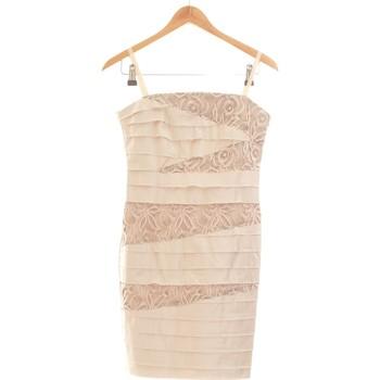 Vêtements Femme Robes courtes Rinascimento Robe Courte  38 - T2 - M Beige