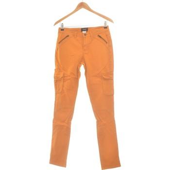 Vêtements Femme Pantalons Soft Grey Pantalon Droit Femme  36 - T1 - S Marron
