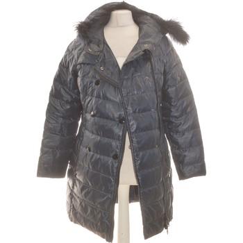 Vêtements Femme Doudounes Trussardi Manteau Femme  42 - T4 - L/xl Bleu