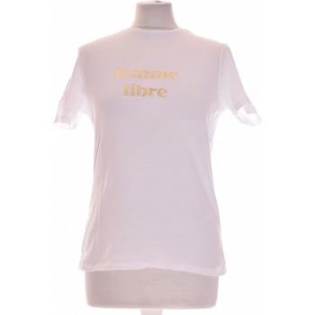 Vêtements Femme T-shirts manches courtes 1.2.3 Top Manches Courtes  36 - T1 - S Blanc