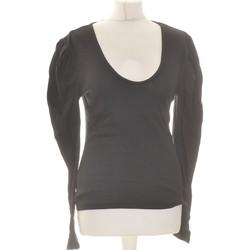 Vêtements Femme Tops / Blouses Free People Top Manches Longues  40 - T3 - L Noir