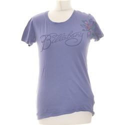 Vêtements Femme T-shirts manches courtes Billabong Top Manches Courtes  36 - T1 - S Bleu