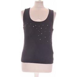 Vêtements Femme Débardeurs / T-shirts sans manche Manoukian Débardeur  38 - T2 - M Noir