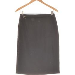 Vêtements Femme Jupes Manoukian Jupe Mi Longue  38 - T2 - M Noir