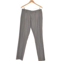 Vêtements Homme Pantalons de costume Celio Pantalon Droit Homme  40 - T3 - L Gris