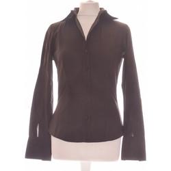 Vêtements Femme Chemises / Chemisiers Sisley Chemise  36 - T1 - S Marron