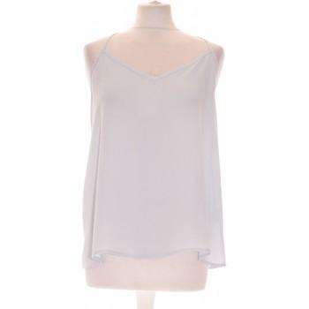 Vêtements Femme Débardeurs / T-shirts sans manche Abercrombie Débardeur  38 - T2 - M Bleu