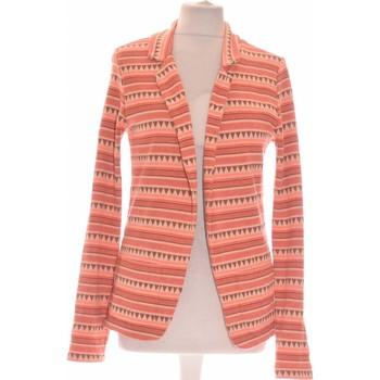 Vêtements Femme Vestes / Blazers Maison Scotch Gilet Femme  36 - T1 - S Orange