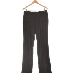 Vêtements Femme Pantalons fluides / Sarouels 1.2.3 Pantalon Droit Femme  40 - T3 - L Noir