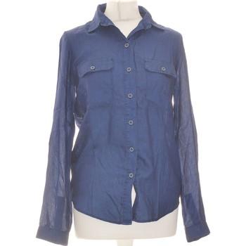 Vêtements Femme Chemises / Chemisiers Promod Chemise  34 - T0 - Xs Bleu