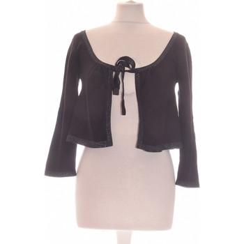 Vêtements Femme Gilets / Cardigans 1.2.3 Gilet Femme  38 - T2 - M Noir