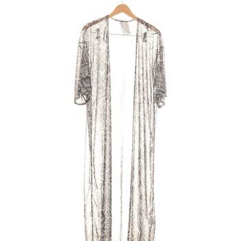 Vêtements Femme Gilets / Cardigans Atmosphere Gilet Femme  36 - T1 - S Gris