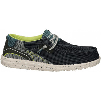 Chaussures Homme Mocassins Hey Dude WALLY HAWK space-blue