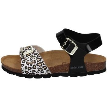 Chaussures Fille Sandales et Nu-pieds Grunland SB1525 NOIR