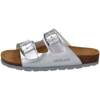 Chaussures Fille Mules Grunland CB1462 ARGENT