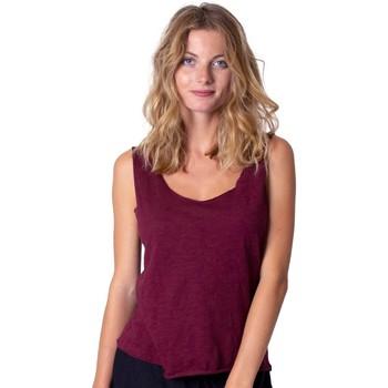 Vêtements Femme Tops / Blouses Coton Du Monde Maeline Grenat