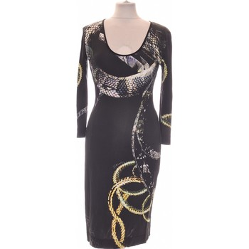 Vêtements Femme Robes longues Roberto Cavalli Robe Mi-longue  38 - T2 - M Noir