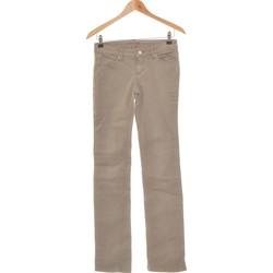 Vêtements Femme Jeans droit Bonobo Jean Droit Femme  36 - T1 - S Vert