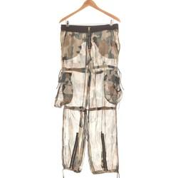 Vêtements Femme Pantalons fluides / Sarouels Pinko Pantalon Droit Femme  38 - T2 - M Vert